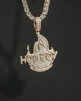Medalla hotboy 18k gold