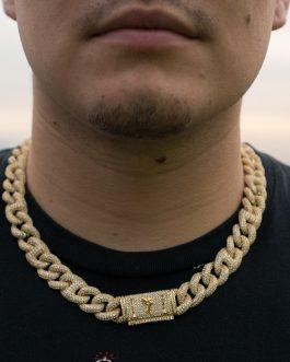 Cubana Gucci 15mm 50cm 18k Gold