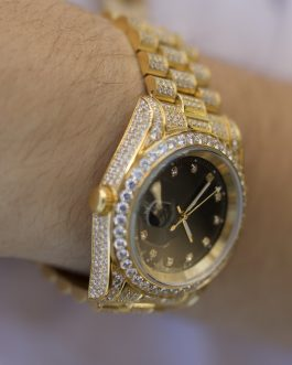 Reloj Diamond Luxury 18k gold
